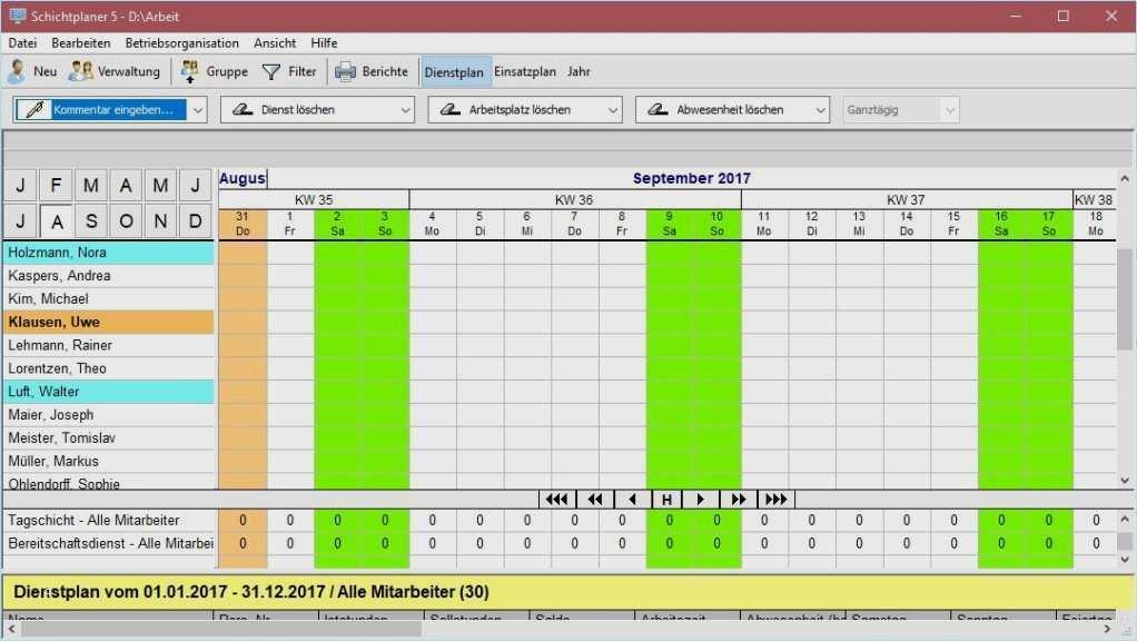 Arbeitszeitplan Vorlage Excel Und Pdf Herunterladen 12