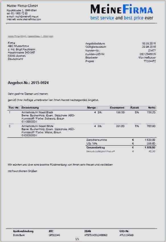 auftragsbestaetigung muster kostenlos anzahlungsrechnung muster 3