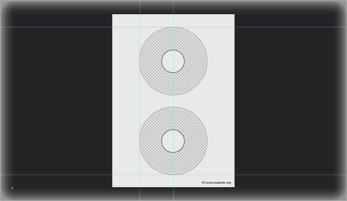 kostenlose photoshop vorlage fuer avery zweckform cd dvd label