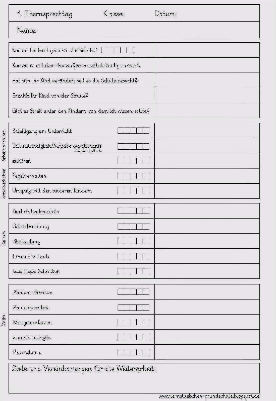 17 Schonste Beobachtungsbogen Vorlage Kindergarten