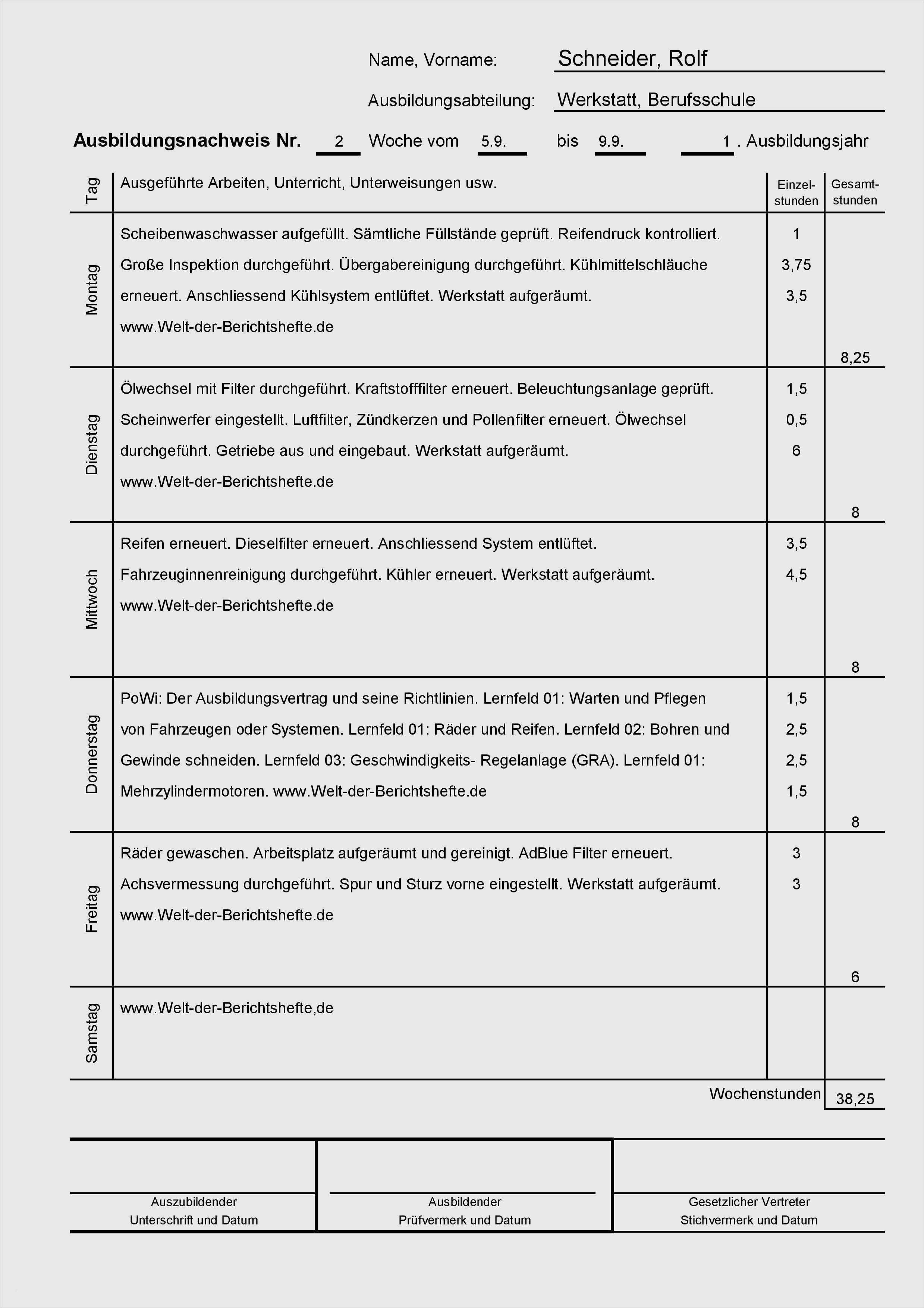 Berichtsheft Industriekaufmann