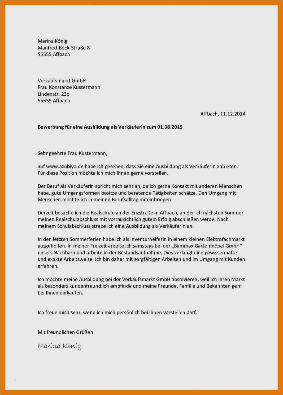 Bewerbung Kaufmann Im Einzelhandel 2021 Inkl 5
