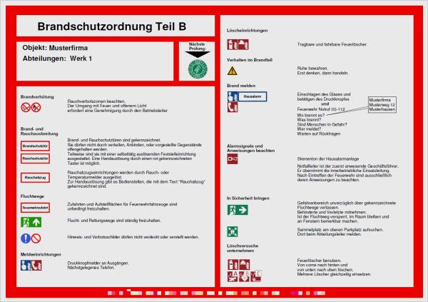 Muster Brandschutzordnung Allgemeine Verwaltung 5