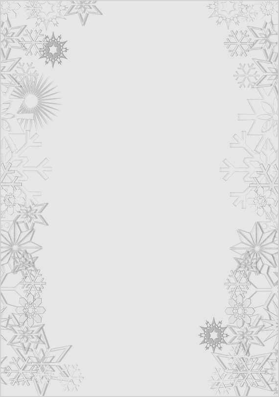 Briefpapier Brief An Den Weihnachtsmann Brief 4