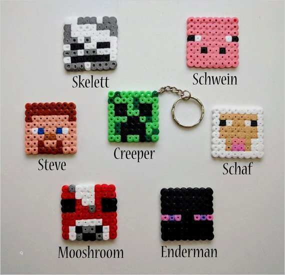 Minecraft Tool Set Perler Bead Pattern Bugelperlen 6