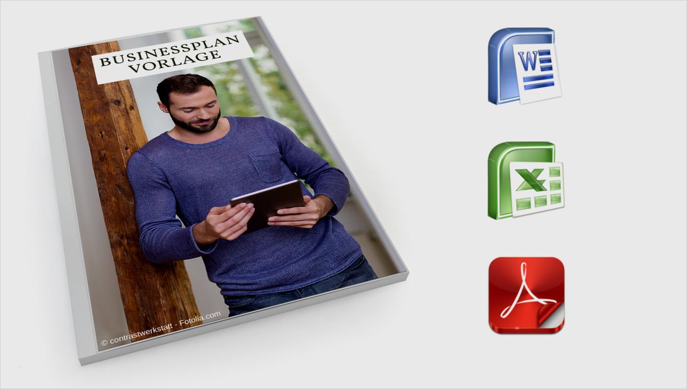 Businessplan Vorlage Word Schön Businessplan Vorlagen System Erfolgreich Selbstständig