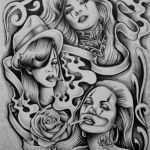 Clown Tattoo Vorlage Fabelhaft Pin by Big Burg On Chicano Arte