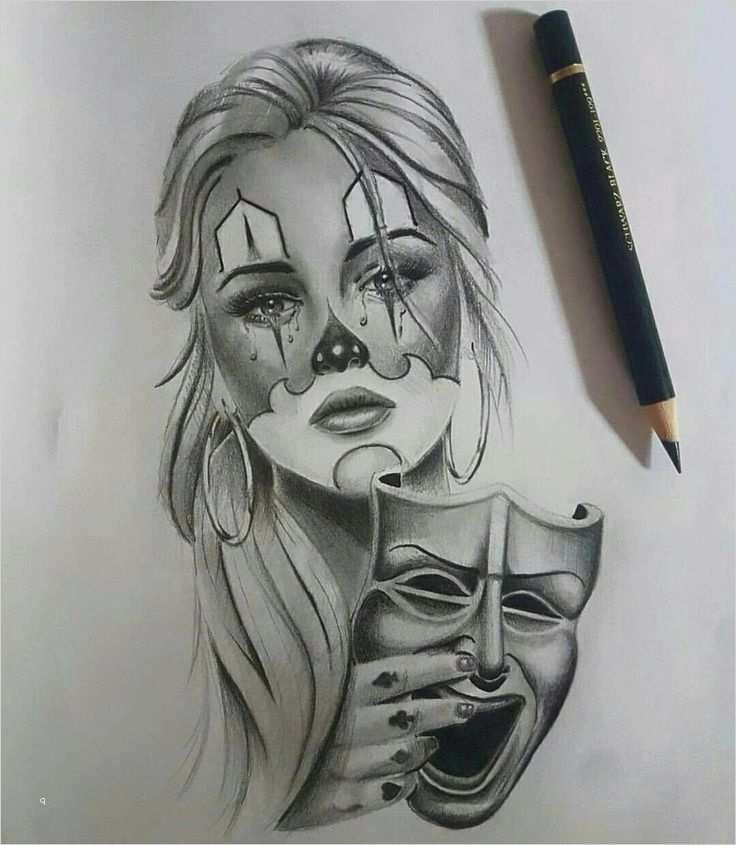 Clown Tattoo Vorlage Genial Pattern Geometric Tattoos Patterntattoos