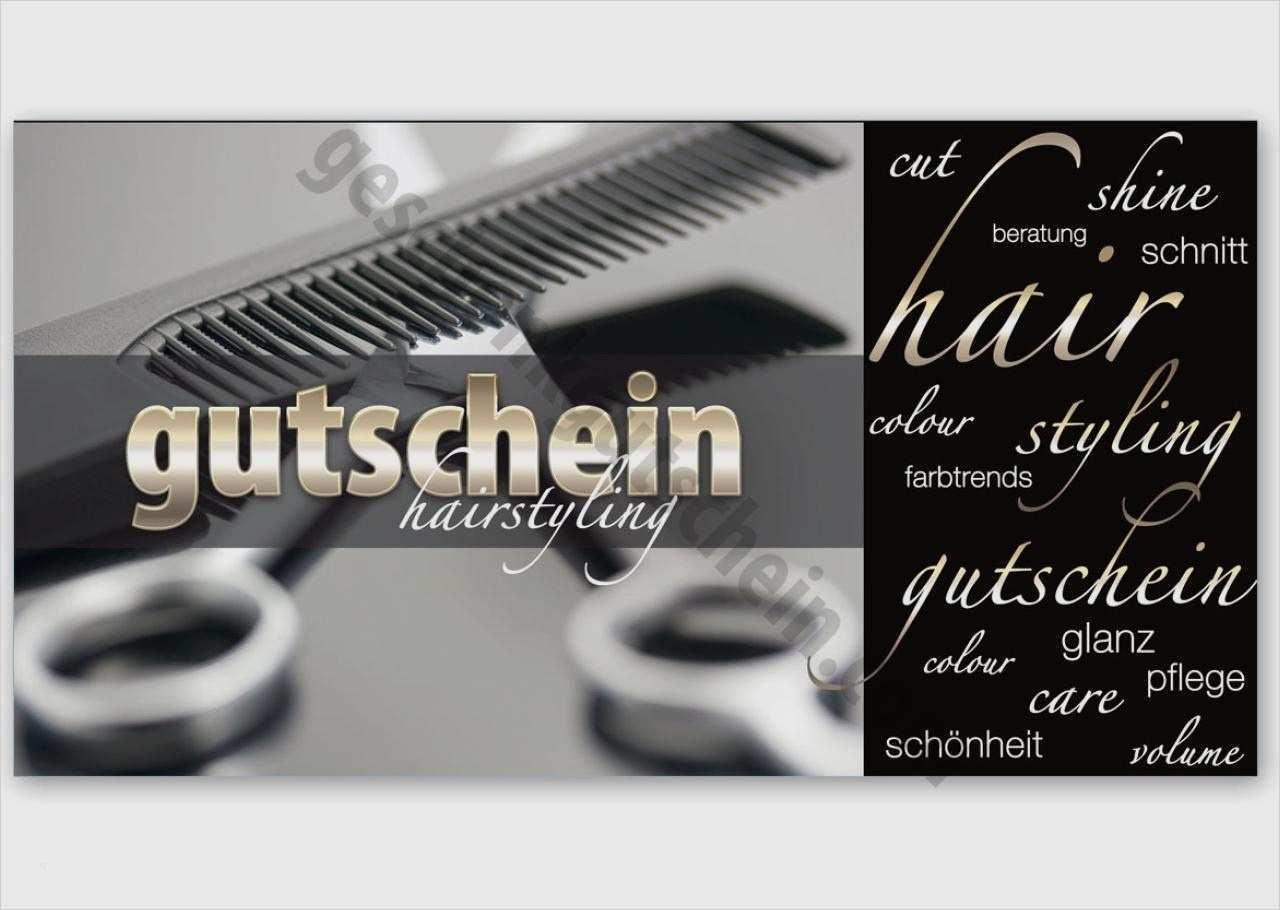Friseur gutschein vorlagen kostenlos ausdrucken