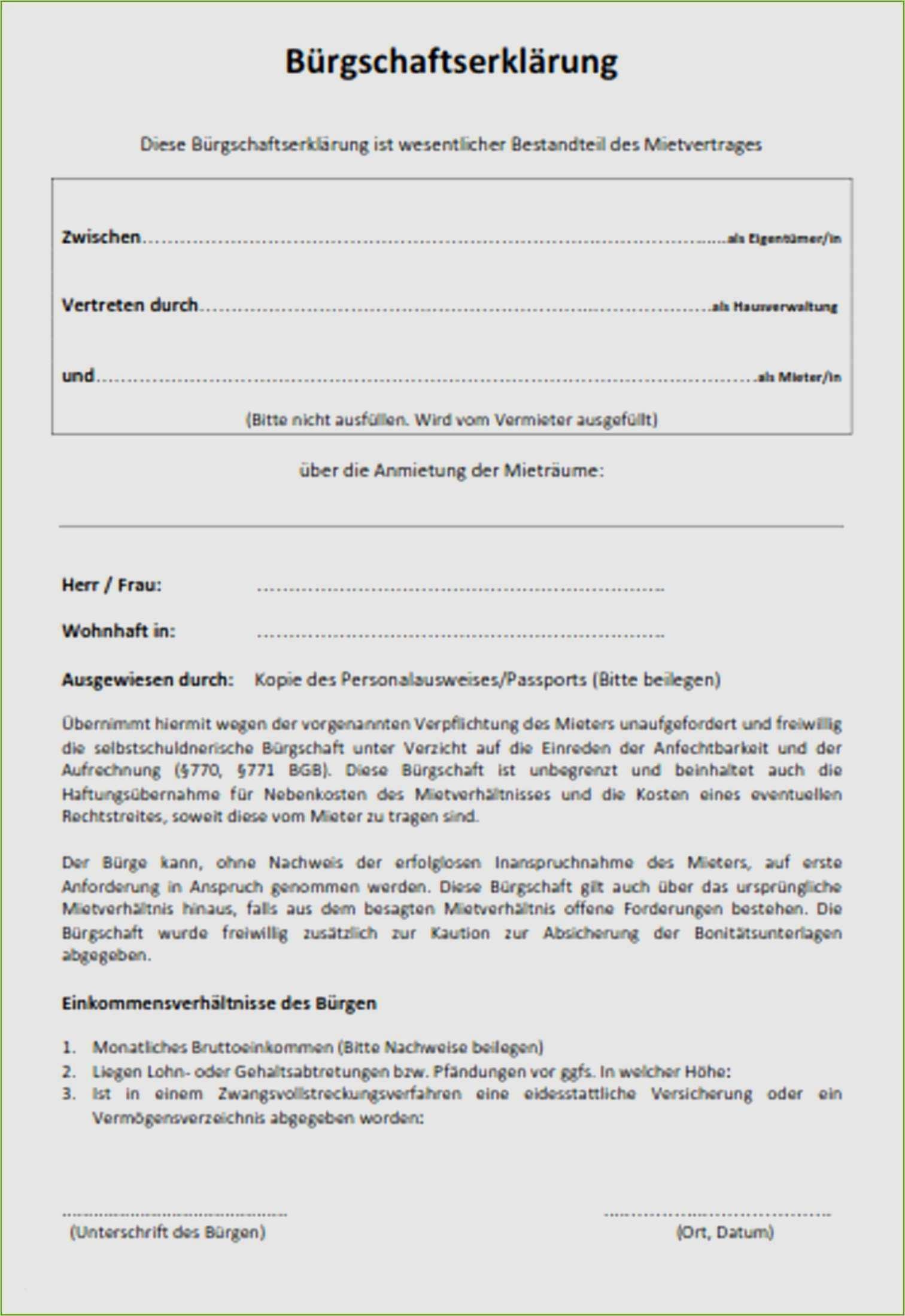18 Neu Einfacher Mietvertrag Vorlage Kostenlos 4