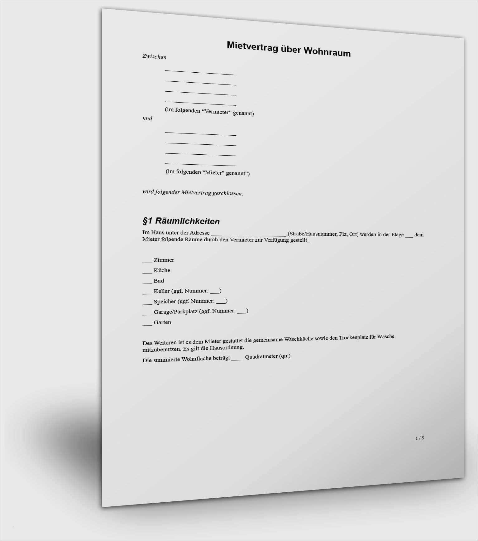 Unsere Muster Kostenlos Zum Download Mietrecht Com