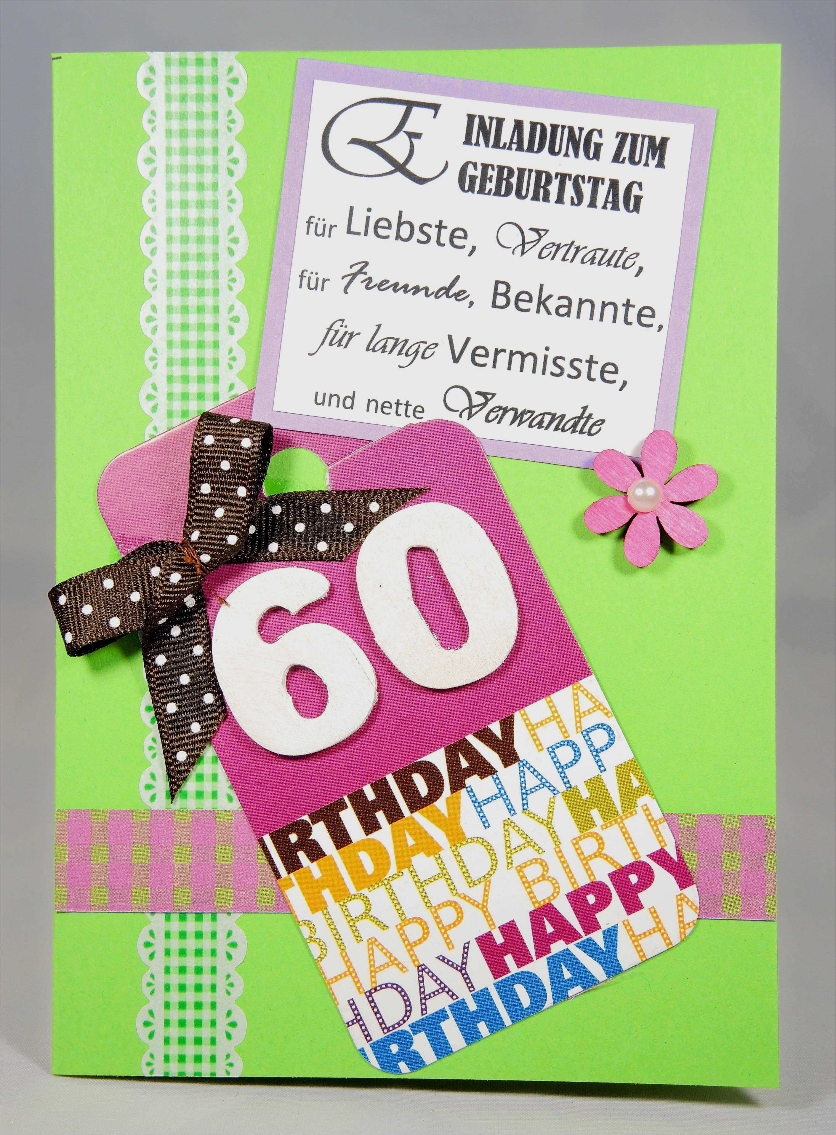 ausgefallene einladungskarten zum 60 geburtstag kostenlos