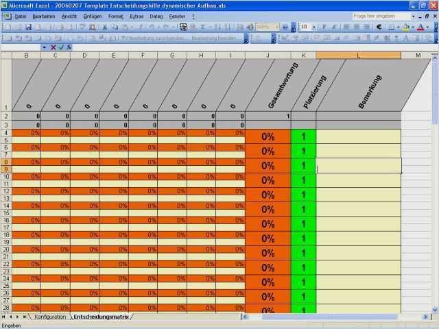 Entscheidungsmatrix Das Richtige Projektmanagement Werkzeug 5