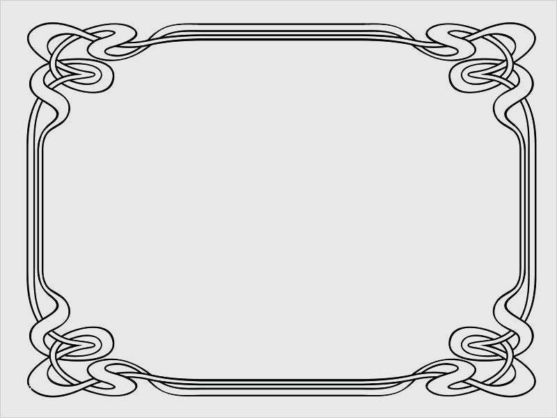 Oriental Abstract Ornament Templates For