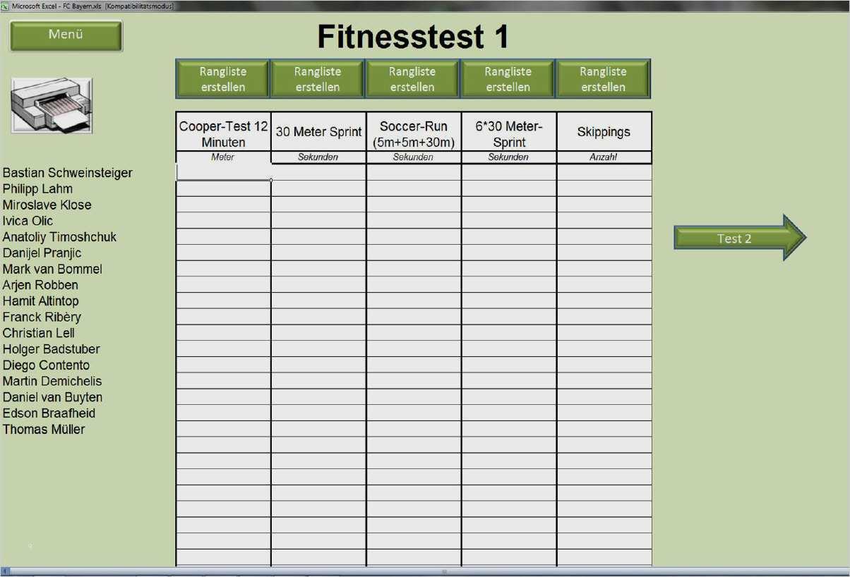 Fussball Aufstellung Vorlage Excel 19 Cool Anspruchsvoll Sie