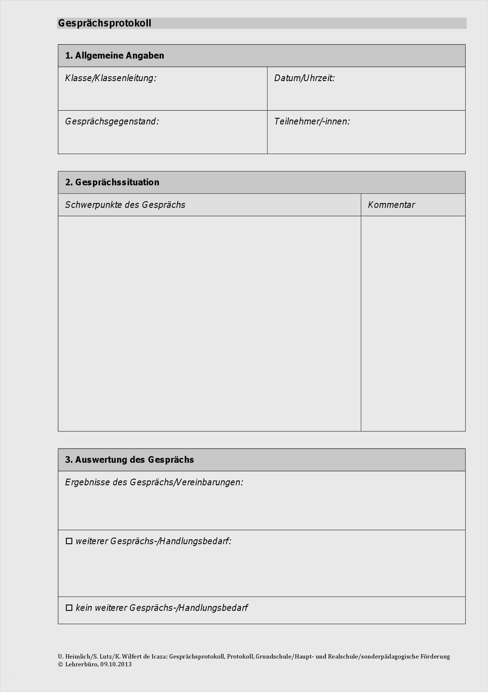 Protokoll Vorlage Kostenlos Word Excel Briefvorlagen Ch