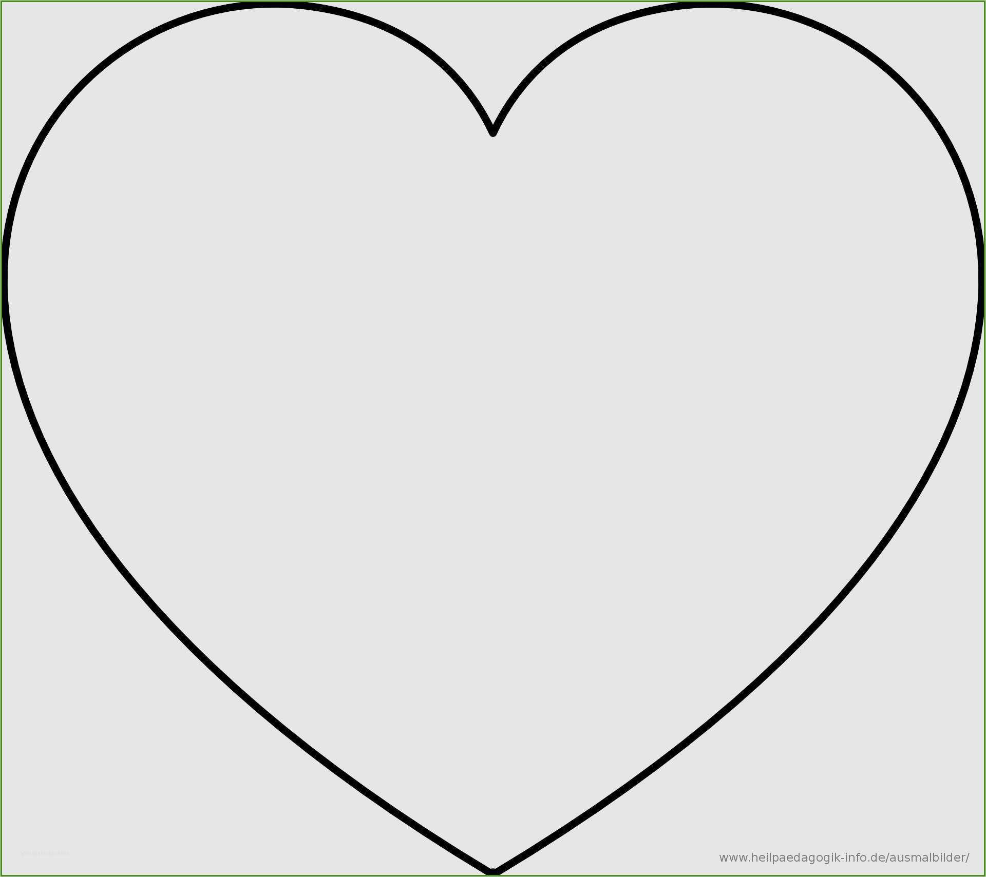 Luxurios Herz Ausdrucken New Herz Vorlage