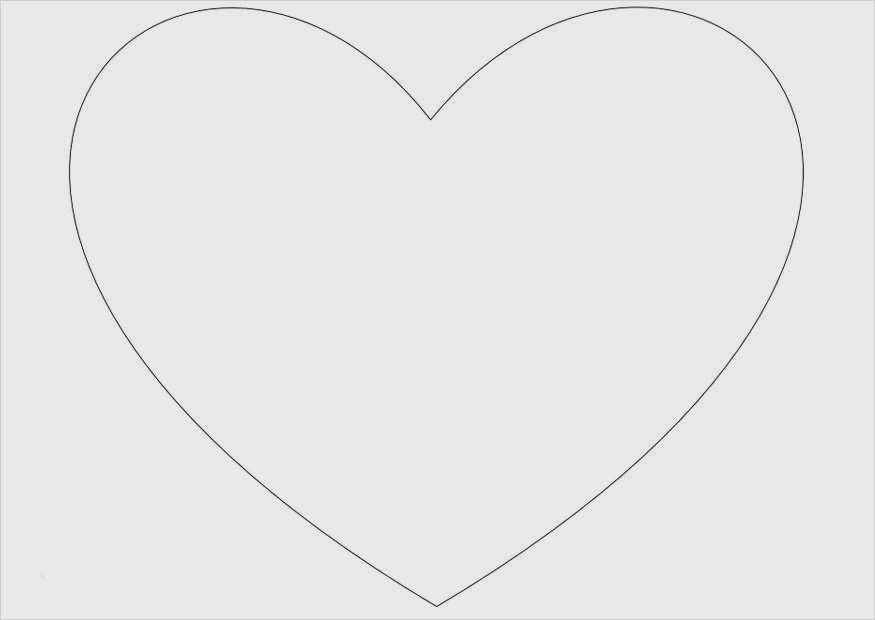 Herz Zum Ausmalen Din A4 | Kinder Ausmalbilder