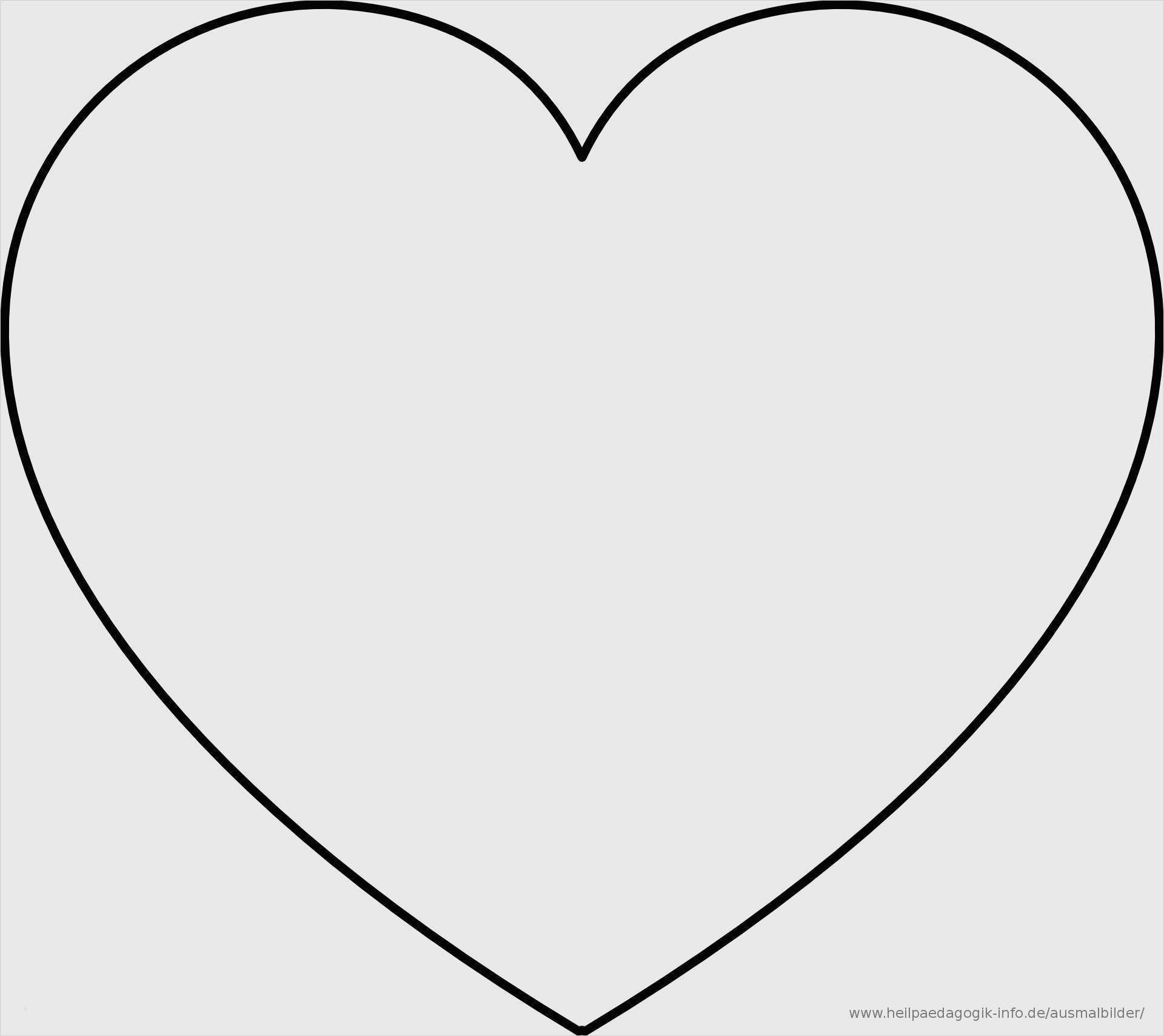 Herz Vorlage Zum Ausdrucken Best Of Ausmalbilder Herz ...
