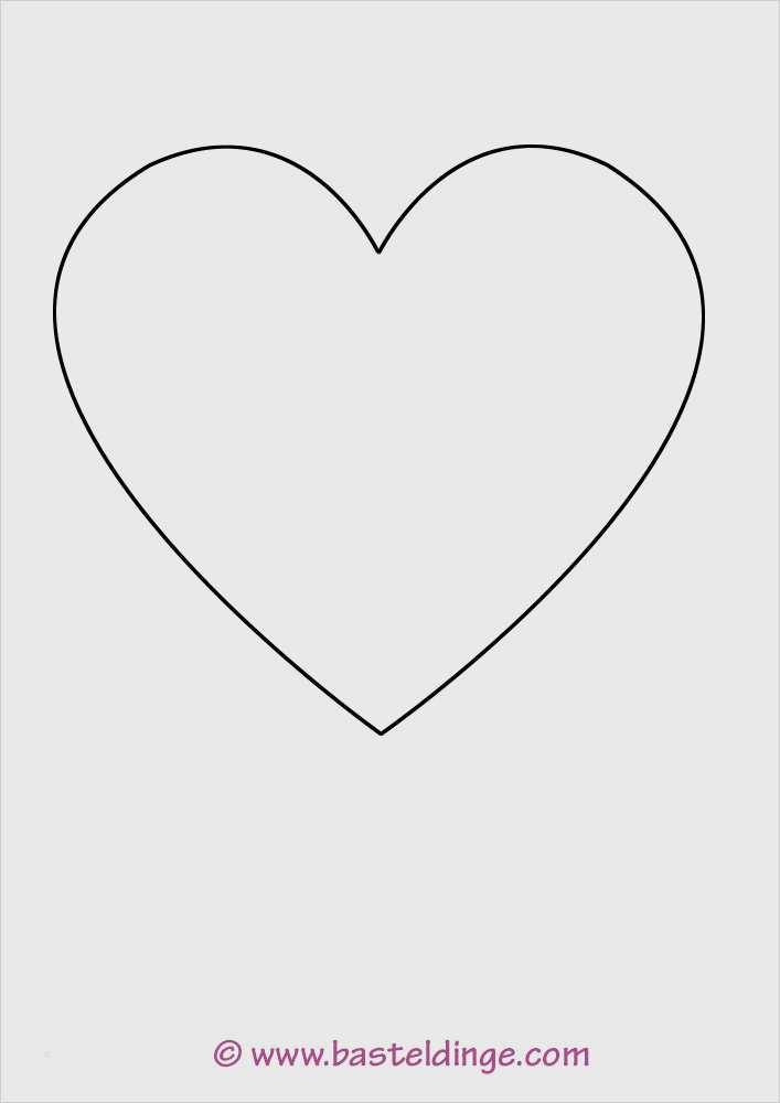 Grosse Und Kleine Herz Vorlagen Basteldinge 3
