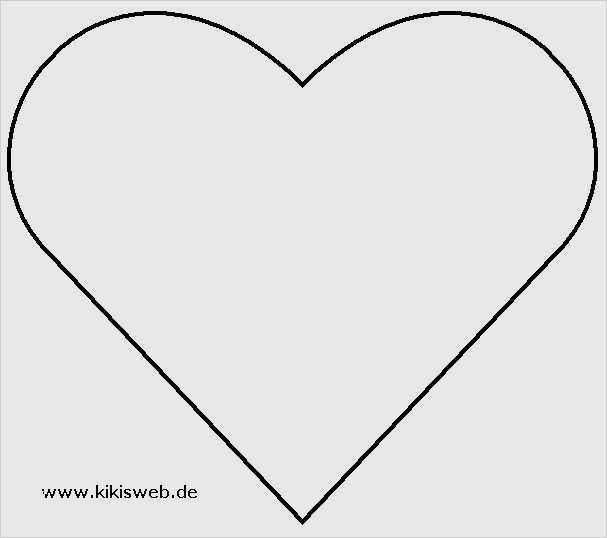Herz Vorlage Zum Ausdrucken 40 Inspiration 11