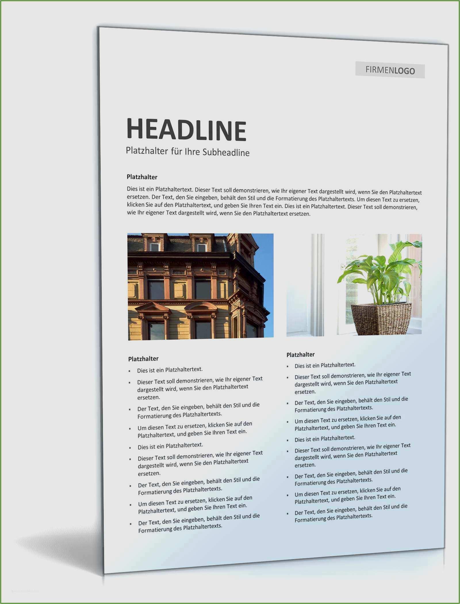 17 Elegant Immobilien Expose Vorlage Download 4