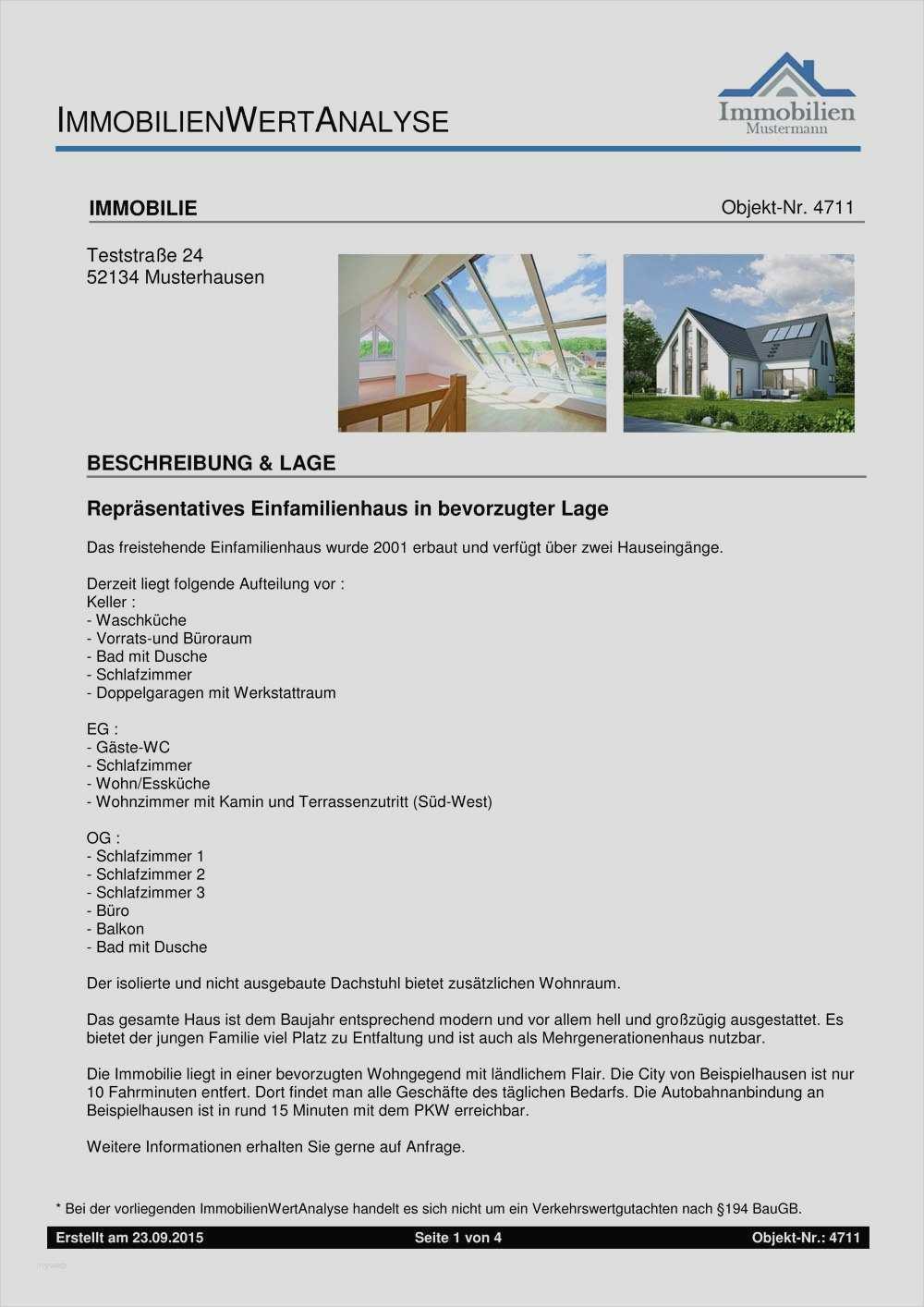 17 Elegant Immobilien Expose Vorlage Download