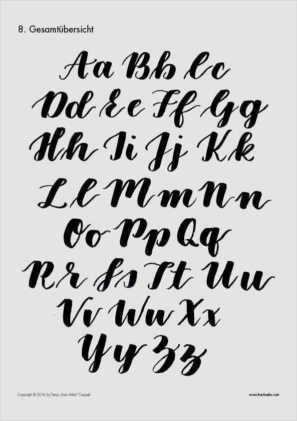 Lettering Vorlagen Katja Haas Papierliebe