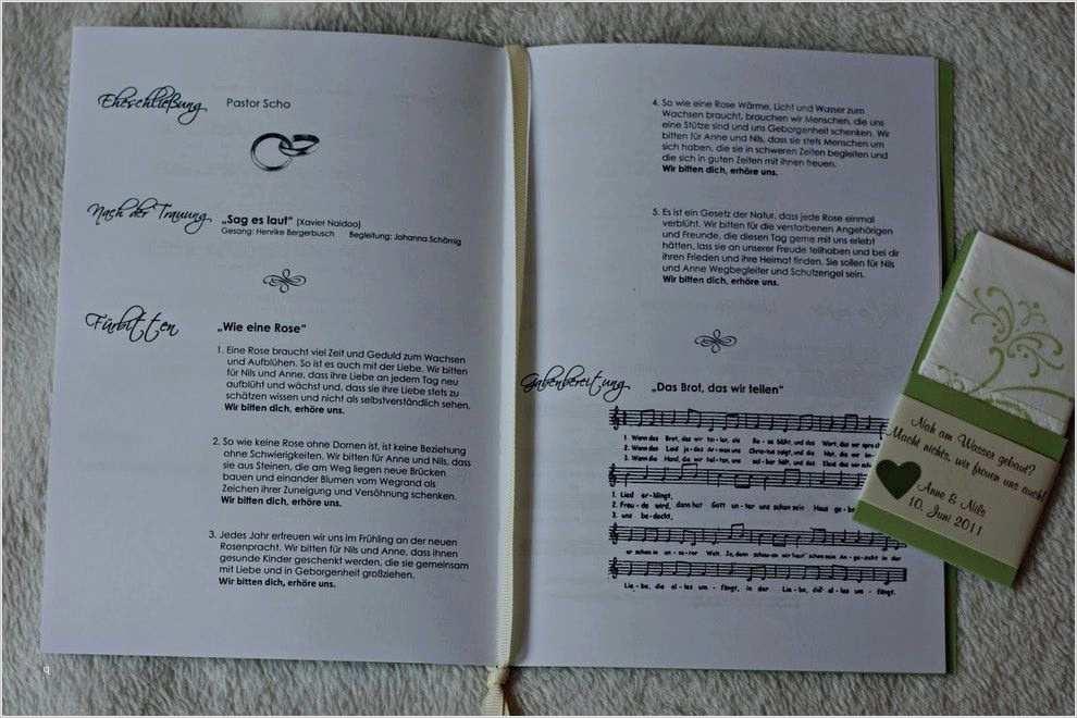 Steffi S Hochzeitsblog Diy Kirchenheft Kostenlose Vorlage 5 13