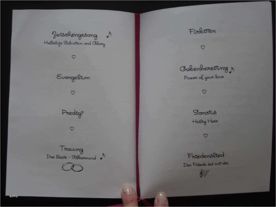 Kirchenheft Fur Die Hochzeit Anleitung Hochzeitsportal24 11