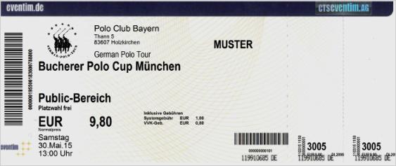 Eventim Ticket