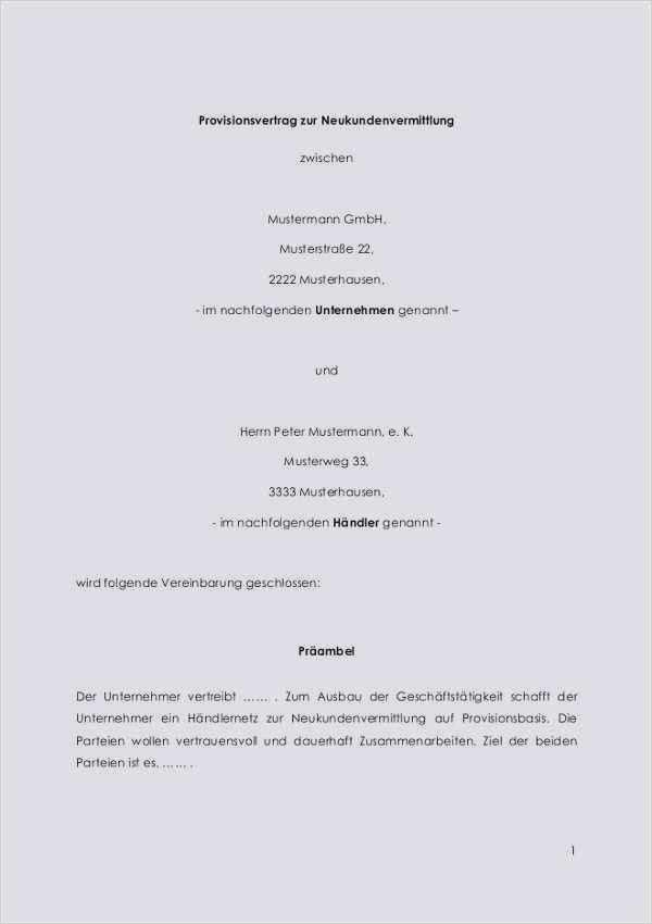 Kooperationsvertrag Steuerberatungsvertrage 4
