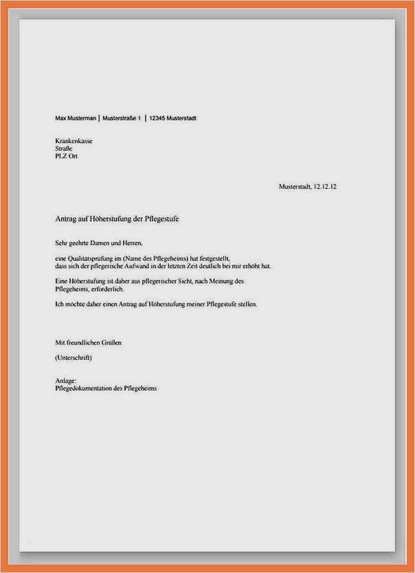 Formloser Antrag Heil Und Kostenplan Einreichen Anschreiben Muster