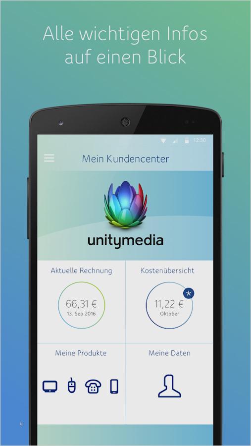 Unitymedia Rechnung Online