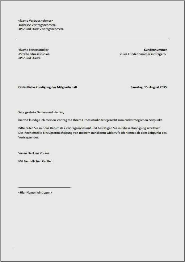 Verein kündigung mitgliedschaft Kündigung Verein: