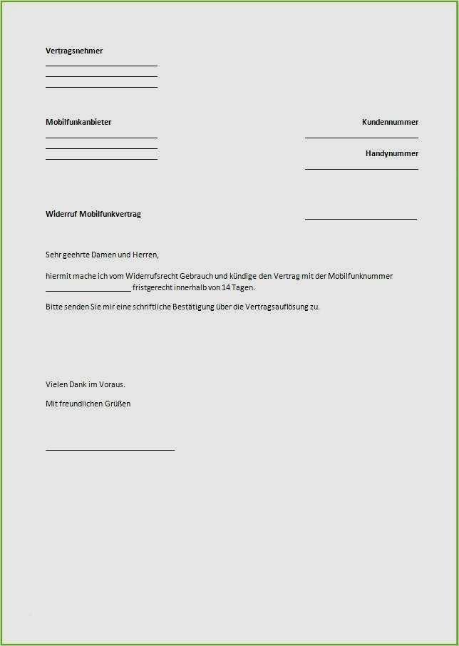 Kündigung Vertrag Telekom Vorlage 17 Großartig Jene Können