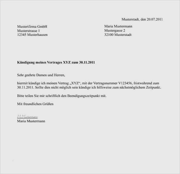 Muster Ordentliche Kundigung Fur Arbeitgeber Zum Download 8