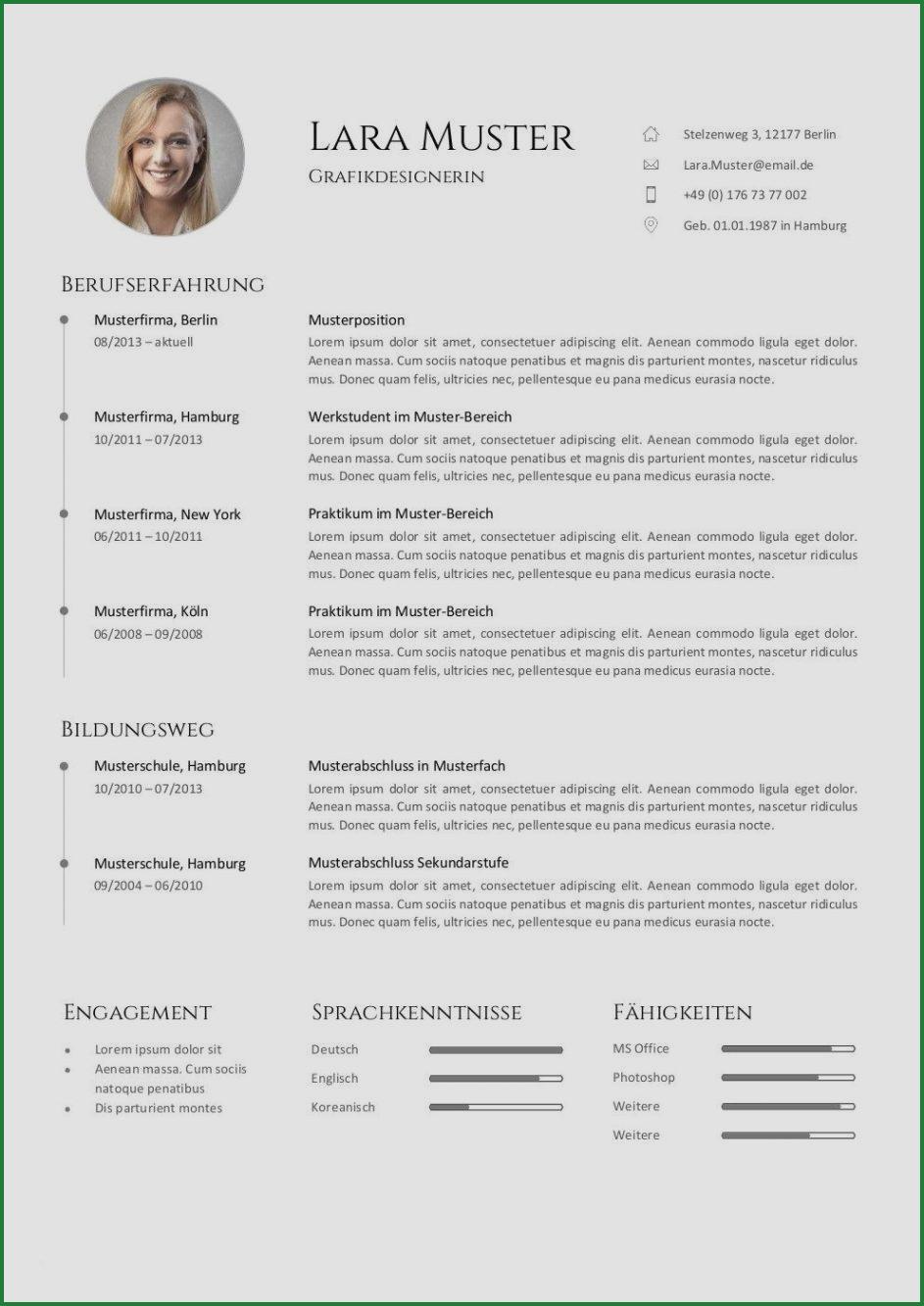 Kostenlose Lebenslauf Vorlagen Von Personalberatern Erstellt