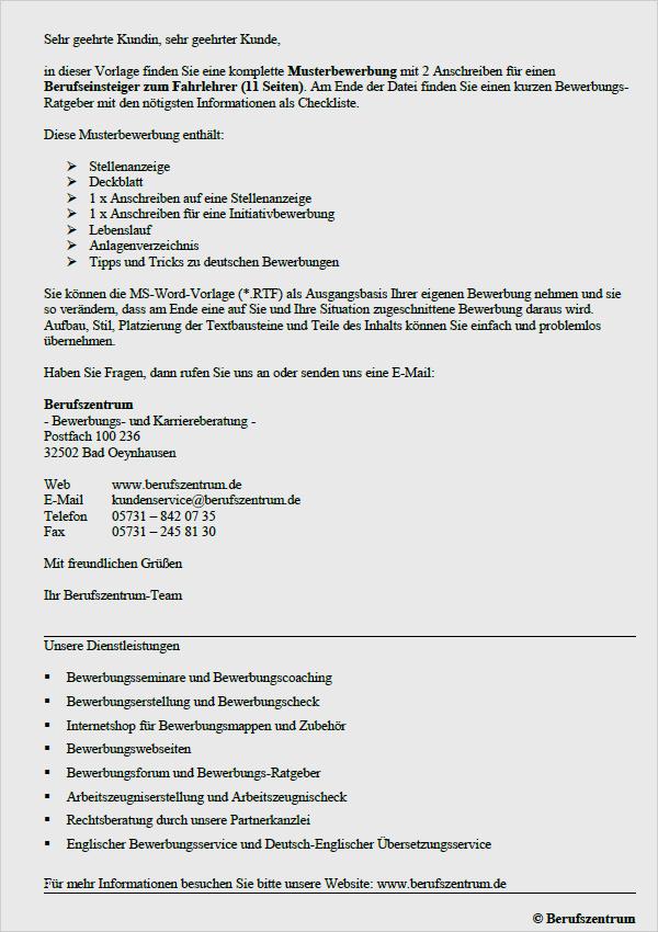 Bewerbung Als Zahnmedizinische Fachangestellte 4 5