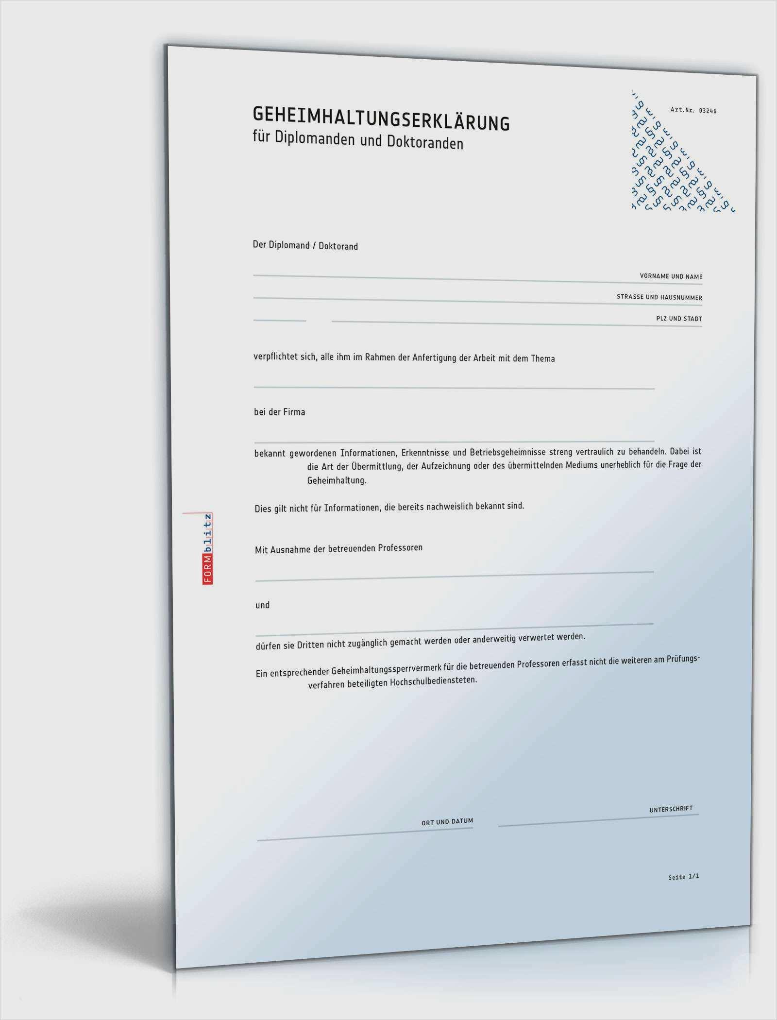 Geheimhaltungsvereinbarung Englisch Muster Zum Download 10