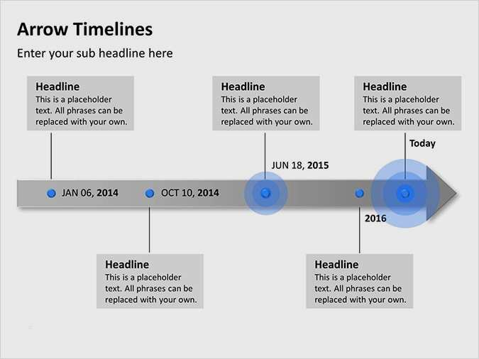 Animated Timeline Template For Powerpoint 2021 Slidelizard 7