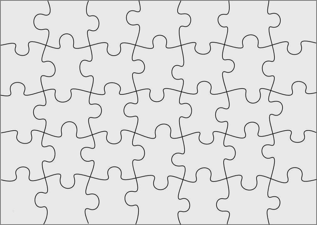 Puzzle Basteln Selber Machen Druckvorlagen 10
