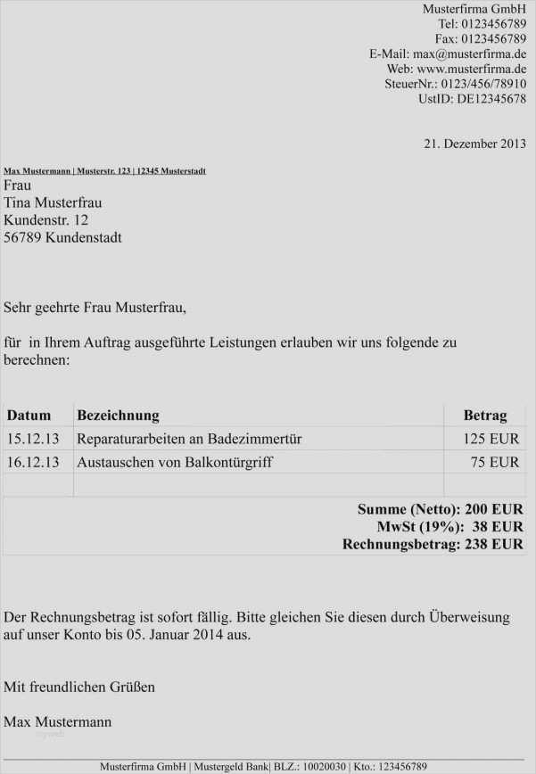 Quittungsvorlage Schweiz Im Word Format Kostenlos 15