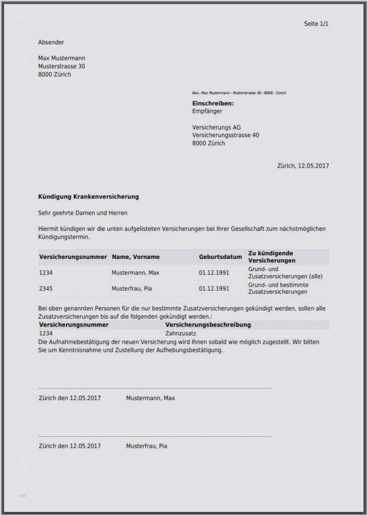 Abtretungserklarung Fur Die Versicherung Unfall 2021 1