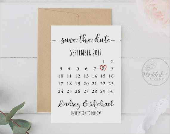 Free Vector Vintage Save The Date Lettering Collection