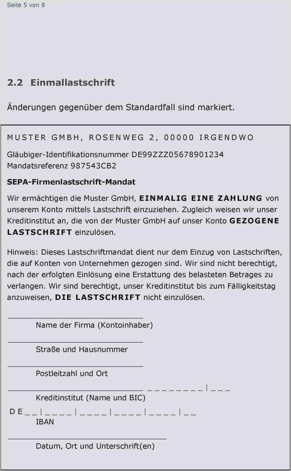 Einreichervertrag Sepa Firmen Lastschriften Sparkasse Merzig 4