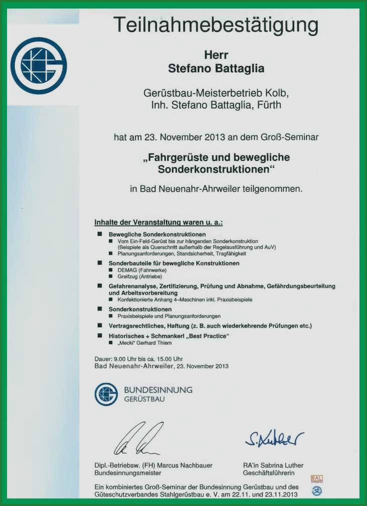 Teilnahmebestatigung Muster Kvp Institut Gmbh 1