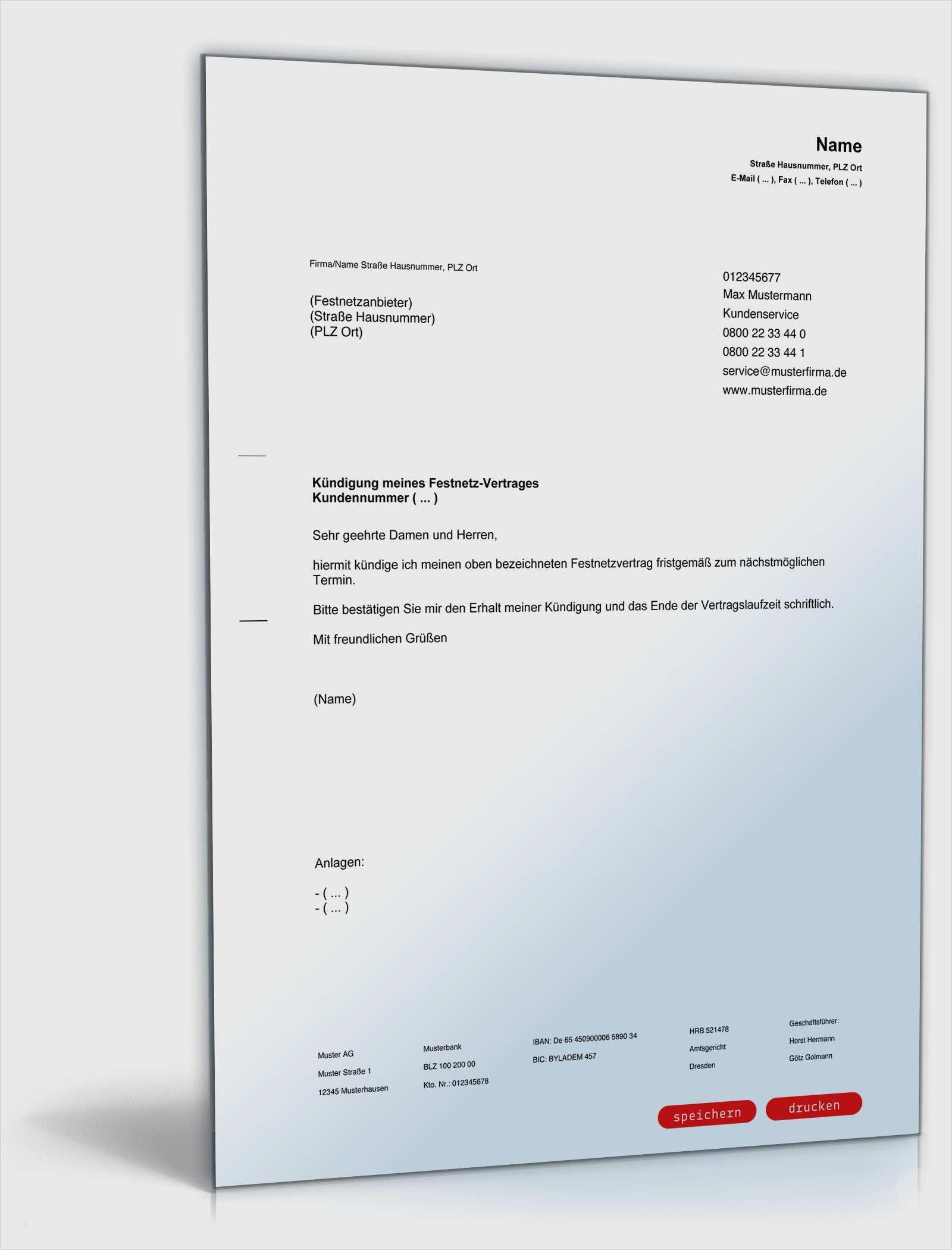 Telekom Online Kundigen Geprufte Vorlage 2