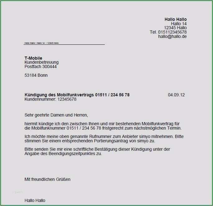 Telekom online kündigen email