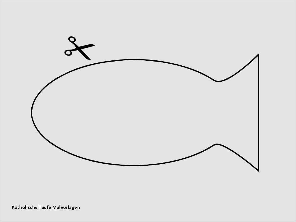 Vorlage Fische Pdf Fischepdf Konfirmation